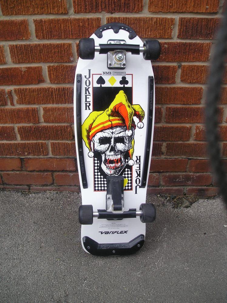 Skateboard Museum: Variflex Joker