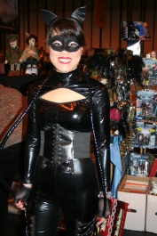 A smiley Cat Woman.