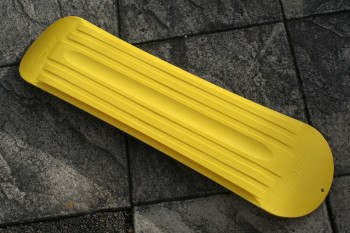 Snowskate: bottom view