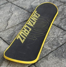 Snowskate: top view