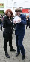 Yeah Baby! Black Widow and Austin Powers