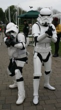 Biker Scout and Stormtrooper