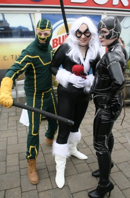 Kick-Ass, Black Cat, Catwoman