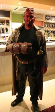 Hellboy - at the bar