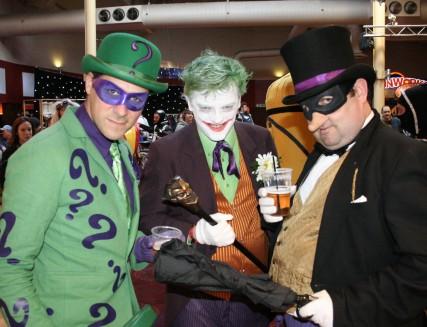 The Riddler, The Joker, The Penguin
