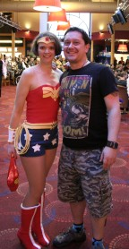 Meeting Wonder Woman!