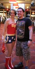 Meeting Wonder Woman!