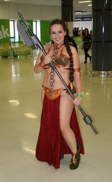Classic slave Leia