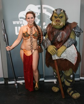 Slave Leia and Gamorrean