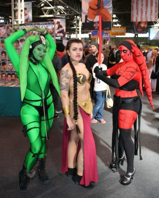 Oola, Leia and Darth Talon