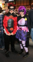 Hit Girl and the other guy...