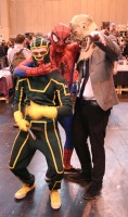 Kick Ass, Spidey and Scarecrow