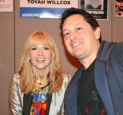 Meeting Toyah at NEC Memorabilia Nov 13