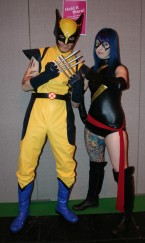 Wolverine and Ms Marvel