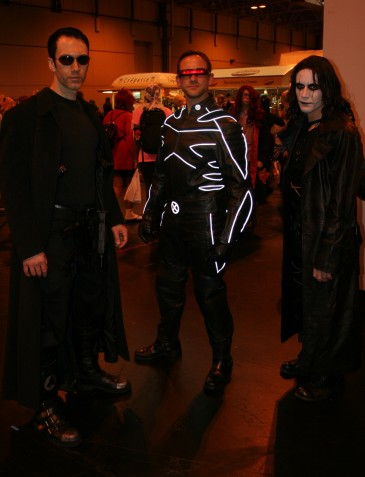 Neo, Cyclops and the Crow