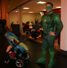 Nice to see Green Lantern is a responsible parent