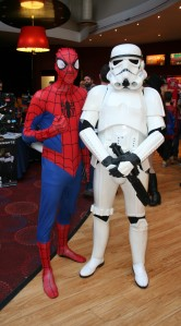 Spidey and Stormtrooper