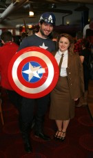 Captain America and Agent Carter