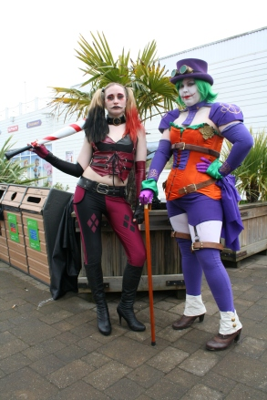 Harley and friend
