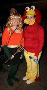 Aquagirl and Fraggle