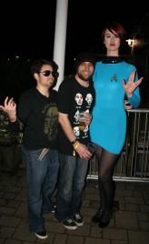 Greeny/Vulcan girl