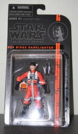 Biggs figure before I opened it...