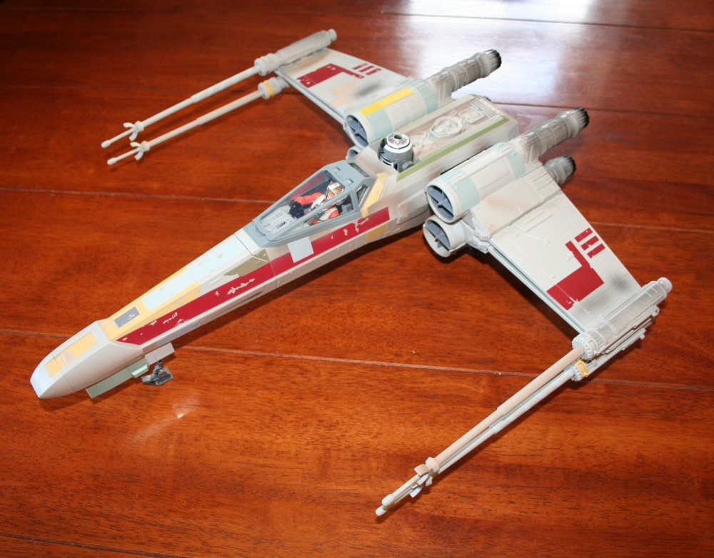 Star Wars Day - X-Wing Fighter Photos (2/6)