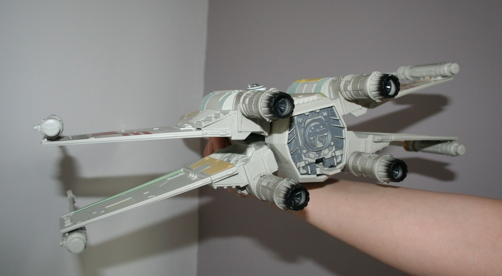 Star Wars Day - X-Wing Fighter Photos (5/6)