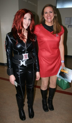 Black Widow and friend