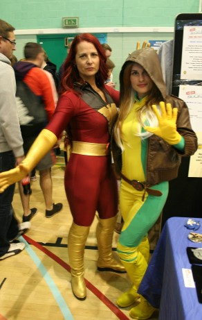 Phoenix and Rogue