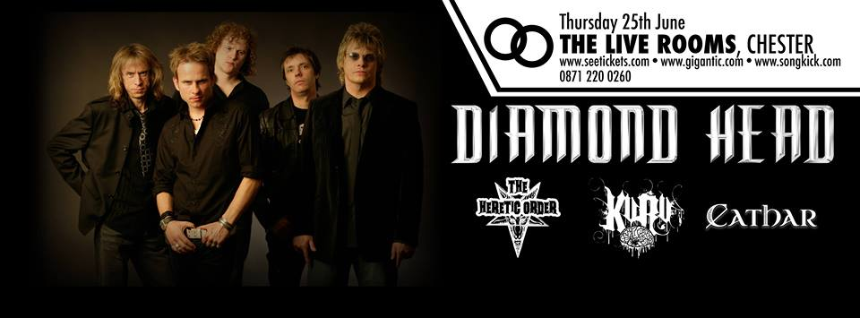 The Night I Played Bass for Diamond Head