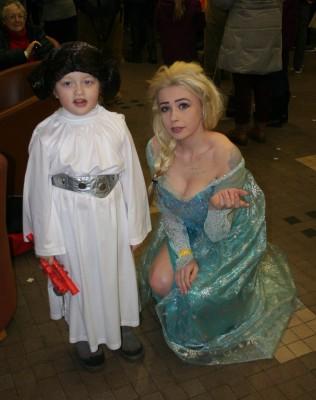 Leia and Elsa