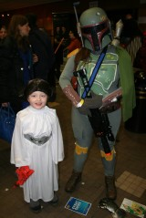 Leia and Fett