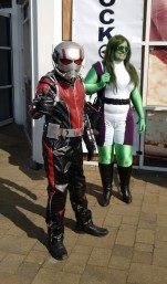 Ant Man and She Hulk