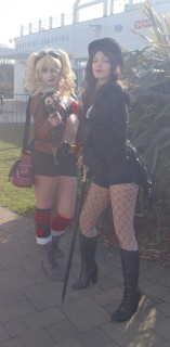 Harley and Zatanna