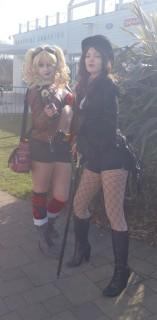 Harley and Zatanna