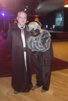 Jedi and Ewok