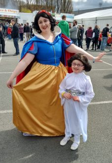 Snow White and friend
