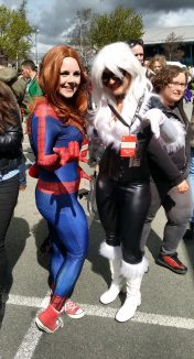 MJ Spidey and Black Cat