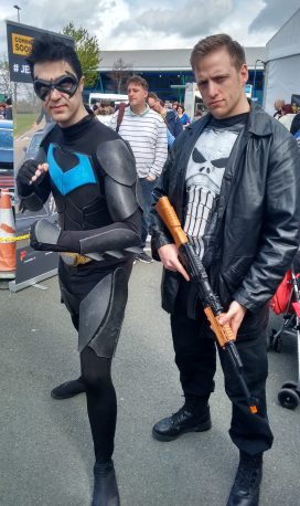 Nightwing and Punisher
