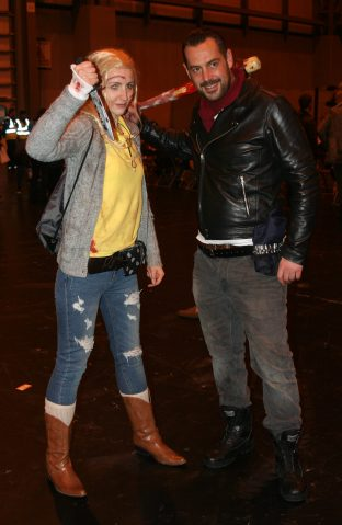 Andrea and Negan
