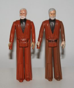 Obi-Wan hair colour variation
