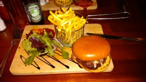Kings Head burger