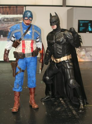 Cap and Batman