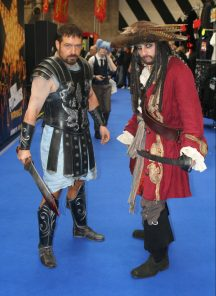 Gladiator and Pirate