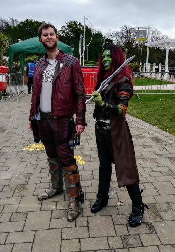 Star Lord and Gamora