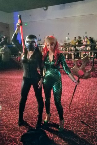 Fantastic Kylo and Mera!