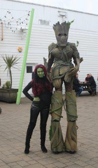 Gamora and Groot