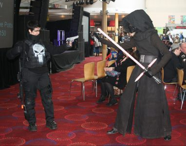 Punisher vs Kylo