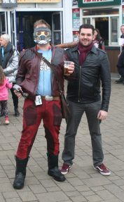 Star Lord and Negan